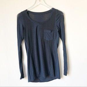 Lululemon Inner Calm Long Sleeve Shirt